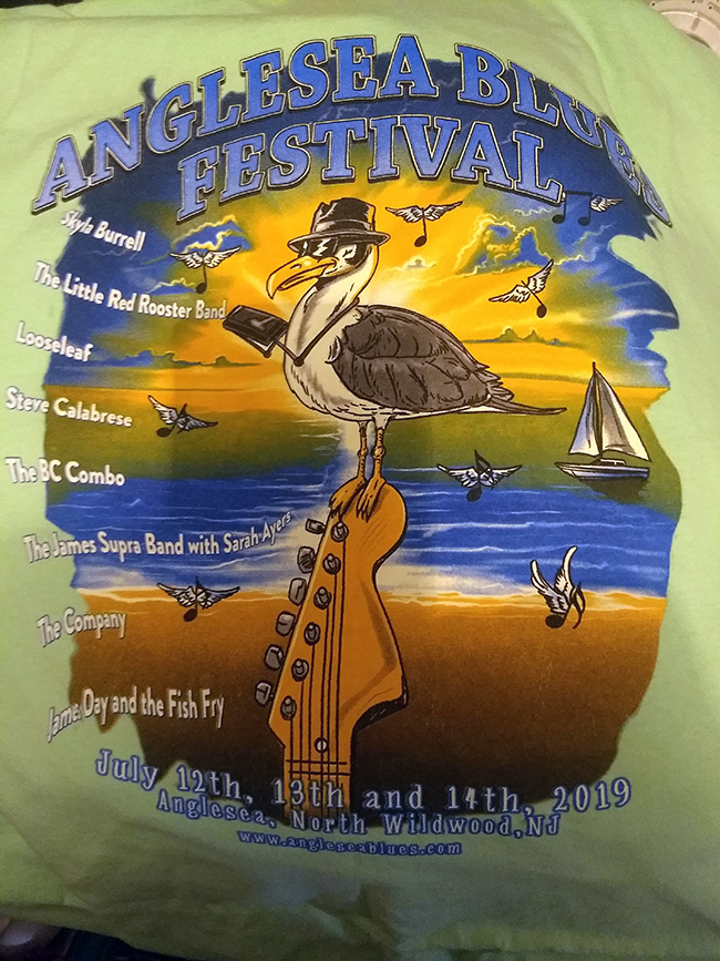 2019 Anglesea Blues Main Stage Acts